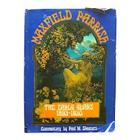 MAXFIELD PARRISH The Early Years 1893 to 1930 Illustration Art Book - Art History Book