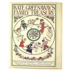 Kate Greenaway's Family Treasury Selections From Five Of Her Best Loved Books - Collectible Children's Books