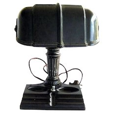 Bakelite Vintage Desk Lamp In Working Condition - Desk Accessories - Vintage Lamp
