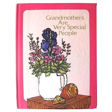 Grandmother's Are Very Special People Inspirational Book, Gift Book, Book of Memories