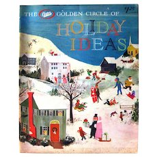 The Oster Golden Circle of HOLIDAY IDEAS 1960s Entertainment - Mid Century Christmas - Holiday Craft Ideas
