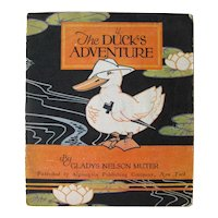 The Ducks Adventure Volland Book 1927 - Illustrated Children's Book - Gift Book