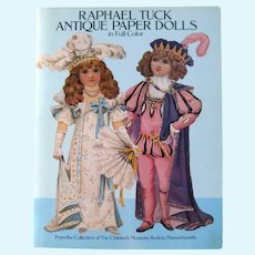 Raphael Tuck Paper Dolls From The Children's Museum In Boston - Collectible Paper Dolls - Nursery Decor