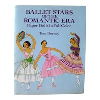 Tom Tierney Paper Dolls Ballet Stars Of The Romantic Era - Ballet Dancers - Dance Teacher Gift