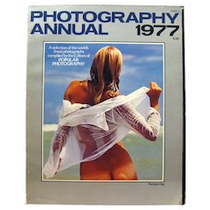 Photography Annual 1977 International Edition, Photographic Art, Vintage Magazine, Gift for Photographer