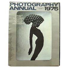 Photography Annual 1975 International Edition, Photographic Gift, Photo Art, Photo Pictures