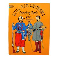 Civil War Uniforms Dover Publishing Coloring Book, Uniform History, American History