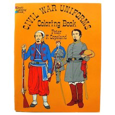 Civil War Uniforms Dover Publishing Coloring Book, Uniform History, American History