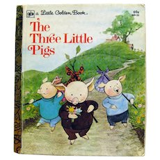 Little Golden Book - The Three Little Pigs , Kids Books, LGB Collectors