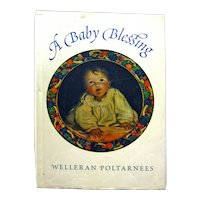 Baby Blessing Illustrated Book, New Parents Gift, Baby Shower Gift, Art Book