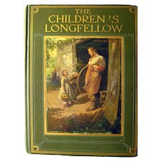 The Children's Longfellow Illustrated Poetry Book, Classic Literature, Children's Library