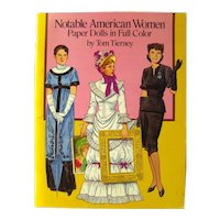 Tom Tierney Paper Dolls - Notable American Women Paper Dolls In Full Color - Dover Publications