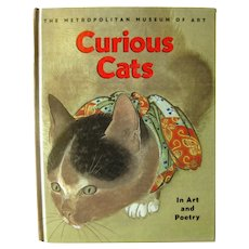 Curious Cats In Art and Poetry by The Metropolitan Museum Of Art, Art Book, Coffee Table Books, Cat Lover's Gift, Friend Gift, Poetry Book