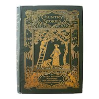 Country Stories Antique Book by Mary Russell Mitford 1896 - Collectible Book - Excellent Condition