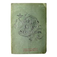 Sharple's Cream Separator Booklet - Vintage Farm Advertising - Vintage Farm Equipment