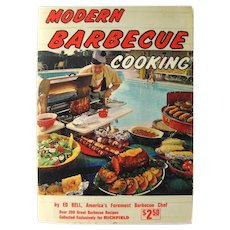 Modern Barbecue Cooking Master Class In A Book - Outdoor Cooking - GIft for Him