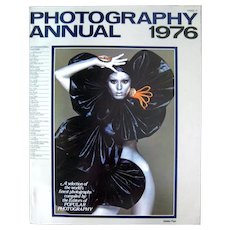 Photography Annual 1976 Vintage Magazine Vintage Photographs Picture Magazine Collectible Magazine, Photographers Gift, Taking Photos