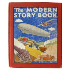The Modern Story Book Children's Book of Modern Inventions Ruth Eger Illustrator, Collectible Kids Books, Children's Book Collector