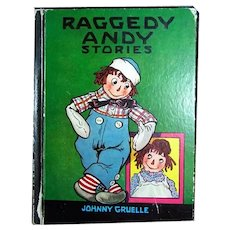 Raggedy Andy Stories Johnny Gruelle Copyrighted Edition 1948 - Raggedy Ann and Andy Vintage Childrens' Book
