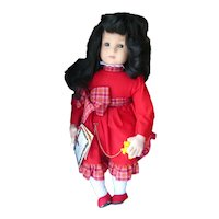Lenci Fiammetta Numbered Limited Edition Felt Doll 1994, Doll Collector