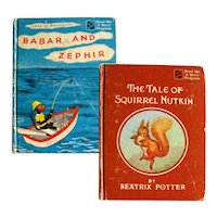 Babar and Zephir and The Tale of Squirrel Nutkin Read Me A Story Program Double Book