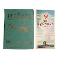 The Red Eagle A Tale For Young Aviators - Volland Publishing, First Edition