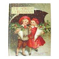 The Spirit of Christmas Holiday Craft Book, Christmas Ideas, DIY Book