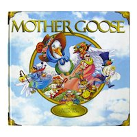 Mother Goose Childrens Book, Read Aloud Book, Kids Gift Book