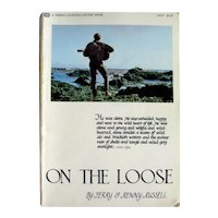 On The Loose Sierra Club Adventure Book by Jerry and Renny Russell, Nature Photography