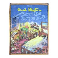 The Enid Blyton Bedtime Story Book - Vintage Childrens Book - Gift Book