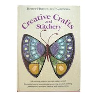 Creative Crafts and Stitchery Better Homes and Gardens Craft Book - DIY Crafts
