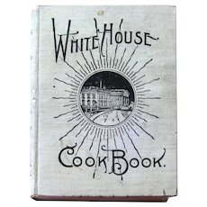 RARE Original White House Cook Book 1919 - Antique Cookbook - Collectible Cookbook