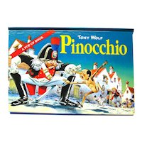 Vintage Pop Up Book Pinocchio Tony Wolf Tormont - Collectible Books