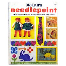 McCall's Needlepoint For Beginners - DIY Crafts - Learn to Needlepoint