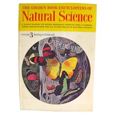 Kids Science Book - The Golden Book Encyclopedia of Natural Science Volume 3, Children's Book - Illustrated Book