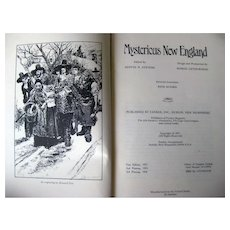 Mysterious New England 1st Edition 1970s Occult Book - History of New England