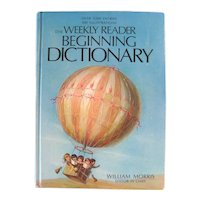 The Weekly Reader Beginning Dictionary - Beginning Reader Book - Early Childhood Books