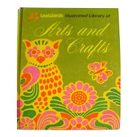 The Illustrated Library of Arts and Crafts - DIY Projects - Vintage 1970s Crafting Book
