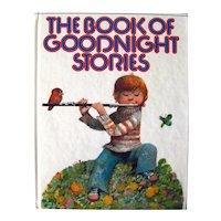 The Book Of Goodnight Stories Vintage Children's Read Aloud Stories - Vintage Kids Bedtime Book - Illustrated