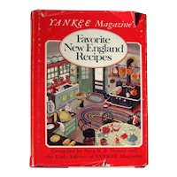 Yankee Magazine The New England Yankee Cook Book - Vintage Cookbook - Food Lover's Gift