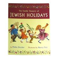 The Family Treasury Of Jewish Holidays - Activity Book - Holiday Book - Holiday Celebrations