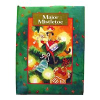 Major Mistletoe Vintage Holiday Puzzle Board Book - Christmas Traditions