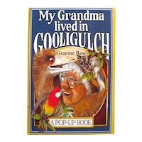 Popup Book My Grandma Lived In Gooligulch Written and Illustrated by Graeme Base - 3D Kids Book