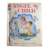 RARE 1st Edition Angel Child - Tip-Top Elf Book 8715