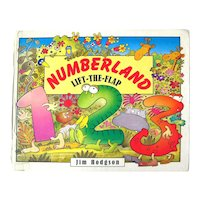 Numberland Lift The Flap Childrens Book - Educational Book - Learn Your Numbers