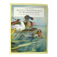 Alice's Adventures In Wonderland Illustrated by Peter Weevers - Watercolor Illustrations - Classic Children's Literature