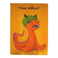 Now Milfred Rare Out Of Print Childrens Book by DJ Donovan Illustrated by Edward Skrocki - Kids Science Fiction Book