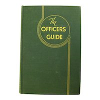 The Officer's Guide US Army Reference Book - Military Etiquette - Commissioned Officers