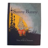 Sunny Bunny Rare Childrens Book Originally Printed by PF Volland Re-Print