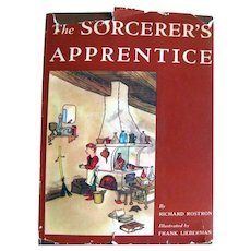 The Sorcerer's Apprentice Out Of Print Children's Illustrated Book - First Edition With Dust Jacket
